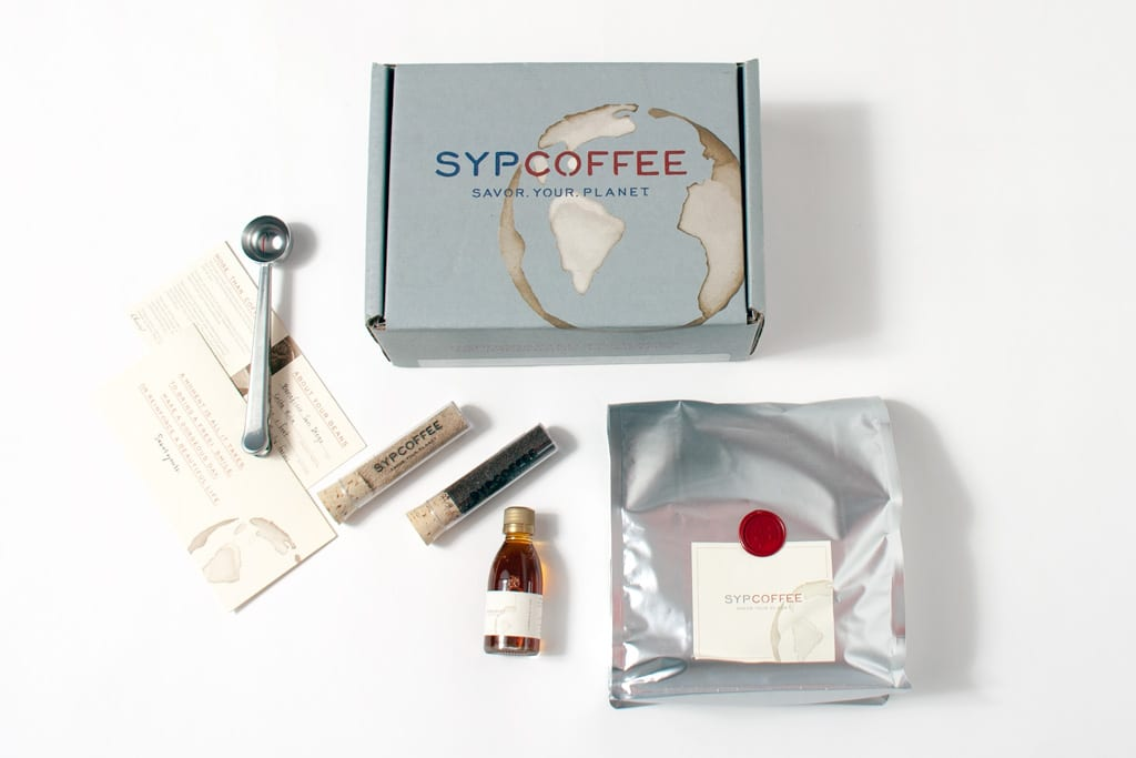 Sypcoffee gift packaging