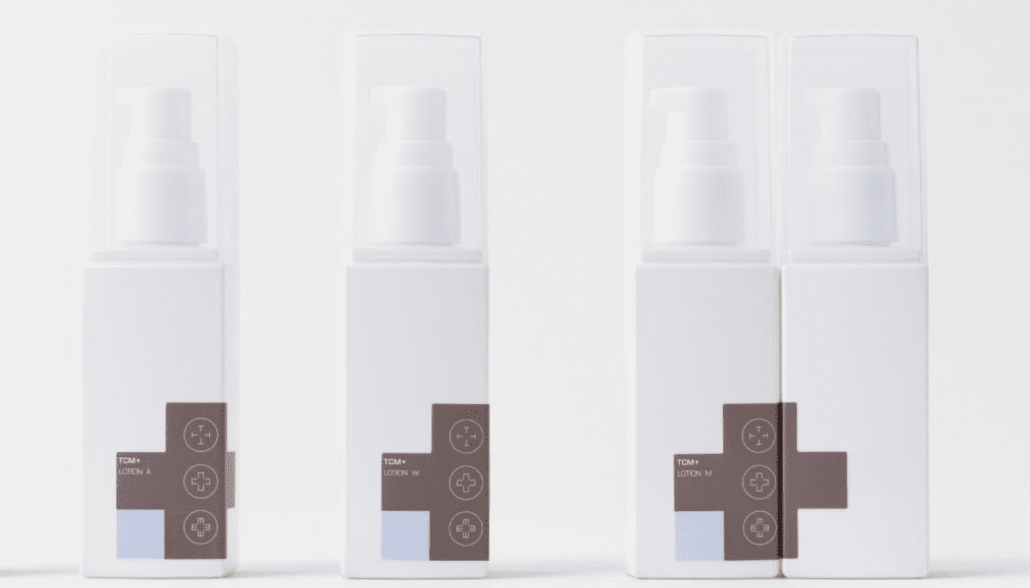 TCM skincare branded products